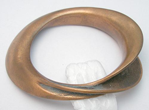 Newly Added Asymmetry Copper Bracelet