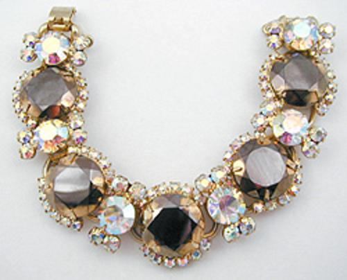 Newly Added DeLizza & Elster Dark Topaz & Aurora Bracelet