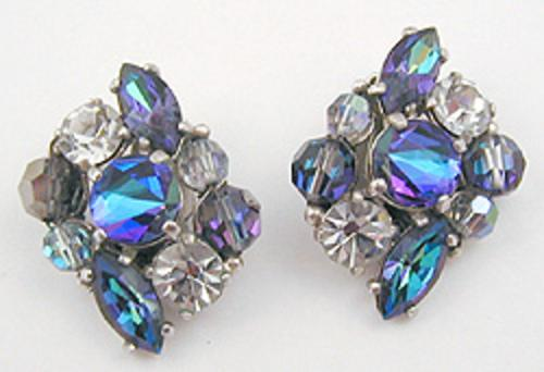 Schiaparelli - Schiaparelli Rhinestone Earrings