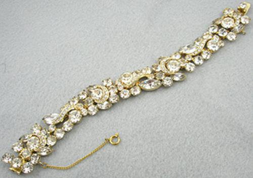 Newly Added Weiss Clear Rhinestone Bracelet