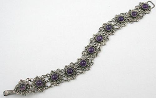End of Year Sale! 30-50% OFF - Amethyst Cabochon Bracelet