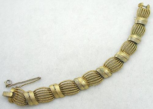 On Sale! 40% OFF sale Items - Trifari Gold Tone Corded Bracelet