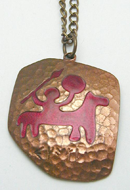 Necklaces - Meka Denamrk Copper Pendant