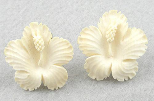 Earrings - Japan Hibiscus Earrings