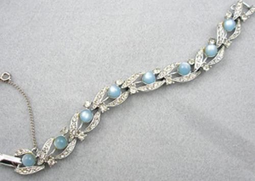 Newly Added Star Blue Moonglow Rhinestone Bracelet