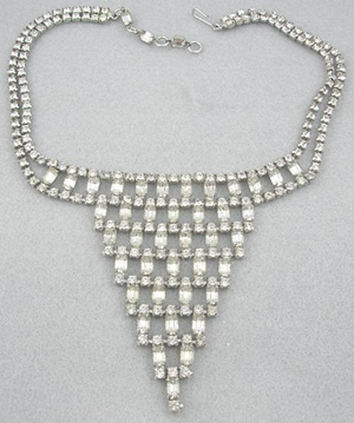 End of Year Sale! 30-50% OFF - Rhinestone Bib Necklace