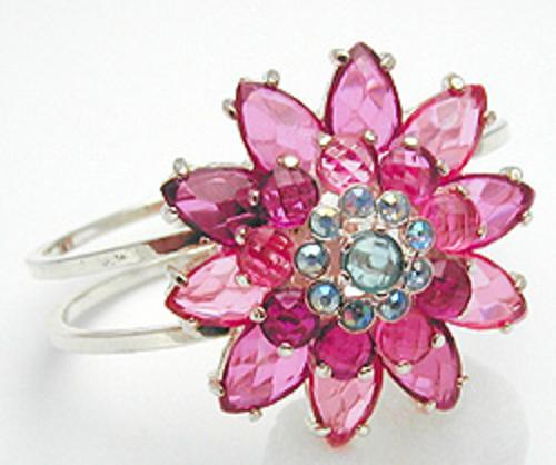 Newly Added Pink Flower Hinged Clamper
