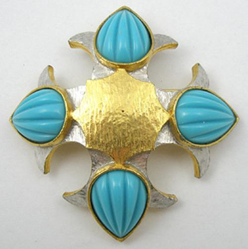 Maltese Crosses - Pauline Rader Maltese Cross Brooch