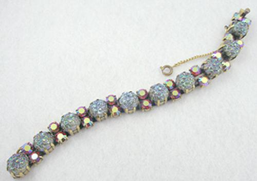 France - Schiaparelli Lava Glass Bracelet
