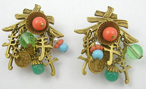Art - Art Asian Earrings