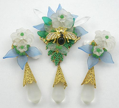 Sets & Parures - Stanley Hagler Brooch Set