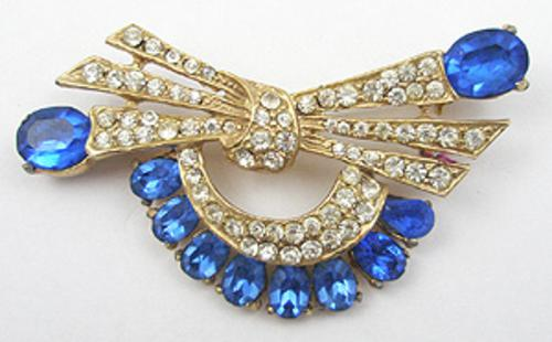 Brooches - Joseph Wiesner Bow Brooch