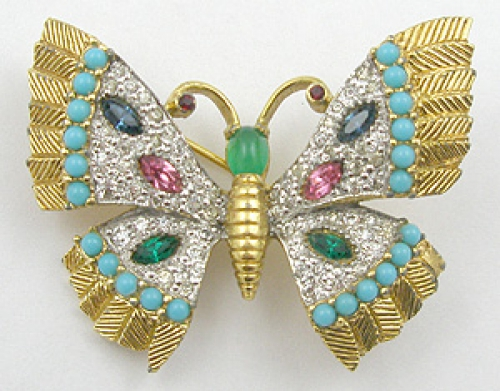 Brooches - Jomaz Butterfly Brooch