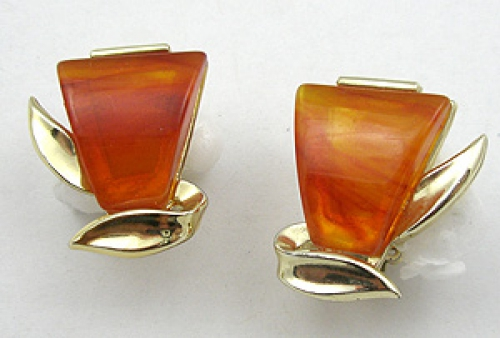 Newly Added Charel Bakelite Earrings