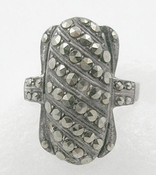Rings - Sterling Marcasite Ring