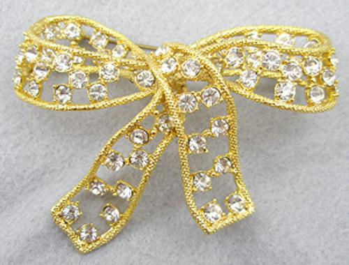 Brooches - Donald Stannard Bow Brooch