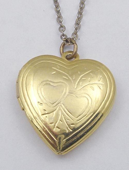 End of Year Sale! 30-50% OFF - Gold Plated Heart Locket