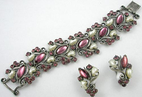 Florenza - Florenza Amethyst Cabochon Bracelet Set