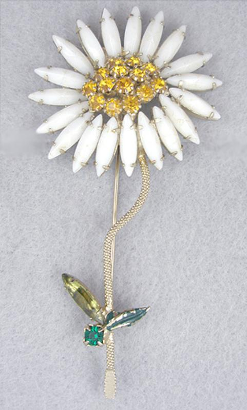 Newly Added Weiss Flower Brooch