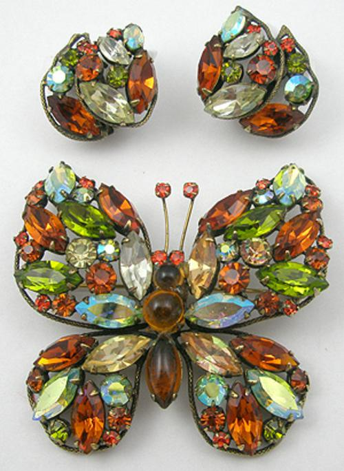 Regency - Regency Butterfly Brooch Set