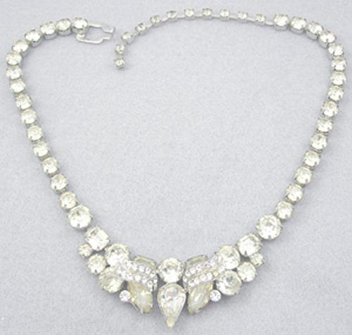 Necklaces - Eisenberg Rhinestone Necklace