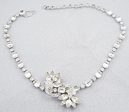 Bridal, Wedding, Special Occasion - Eisenberg Rhinestone Necklace