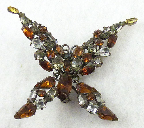 Brooches - Schreiner Trembler Butterfly Brooch