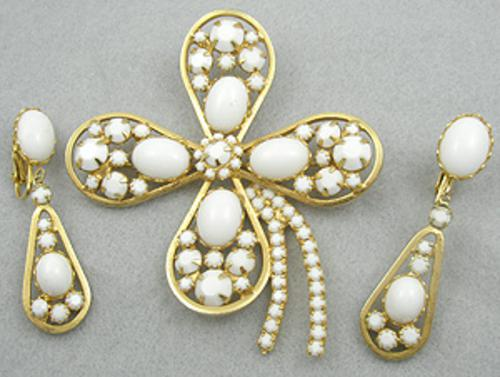 Sets & Parures - Alice Caviness Clover Brooch Set