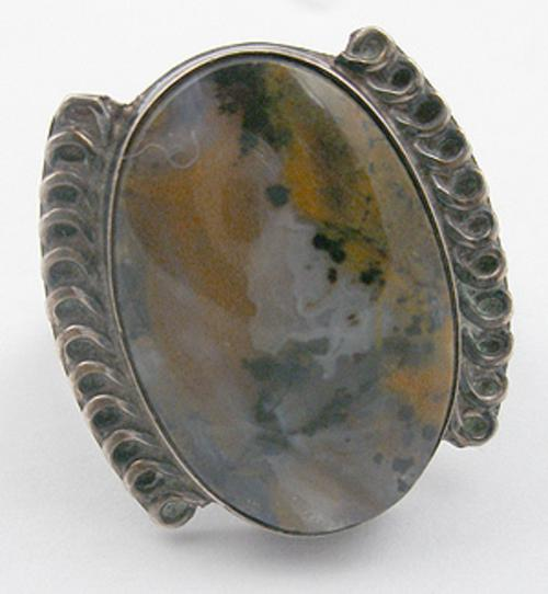 Rings - Native American Petrified Wood Agate Ring