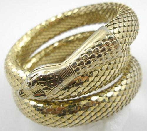 Newly Added Whiting & Davis Snake Bracelet