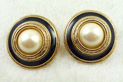 Earrings - Richelieu Faux Pearl Earrings