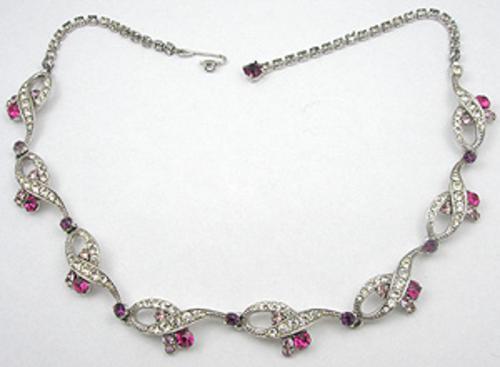 Schiaparelli - Schiaparelli Rhinestone Necklace