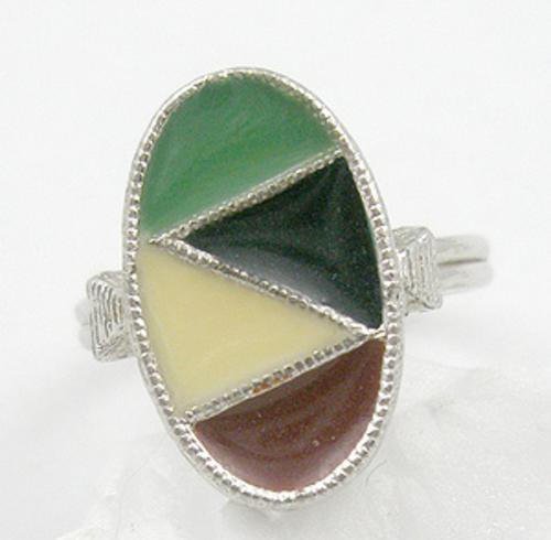 Emmons - Emmons Enameled Ring