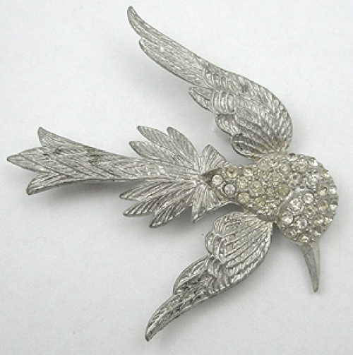 Brooches - Pot Metal Bird Brooch