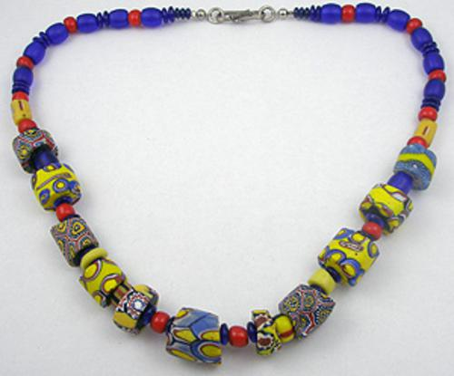Miscellaneous Countries - African Trade Bead Necklace