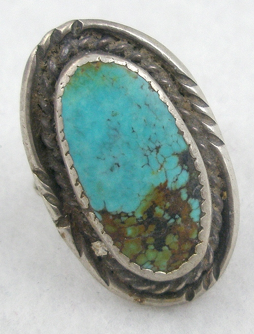 Native American - Navajo Sterling Turquoise Ring