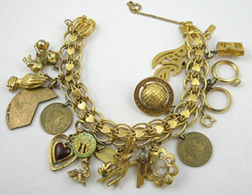 Newly Added Monet Charm Bracelet
