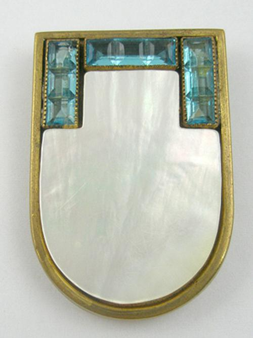 Newly Added Mother-of-Pearl Dress Clip
