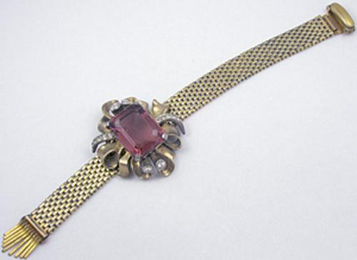 Newly Added Kreisler Amethyst Retro Bracelet