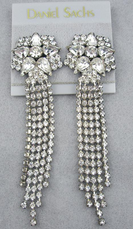 Earrings - Daniel Sachs Rhinestone Earrings