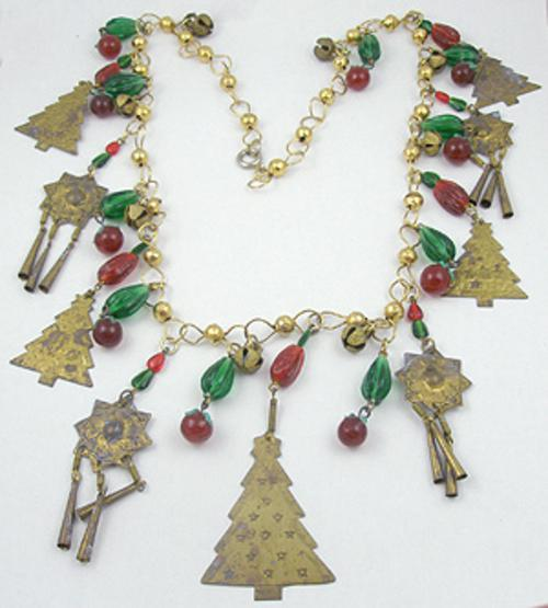 Charm Bracelets - Christmas Charm Necklace
