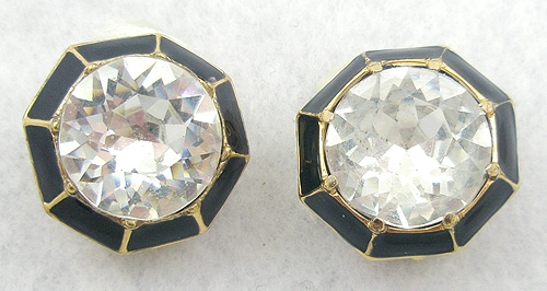 Ciner - Ciner Rhinestone Earrings
