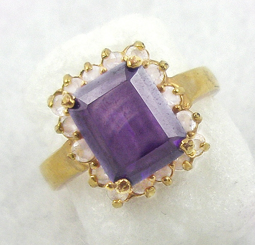 Rings - Lindenwold Amethyst CZ Ring
