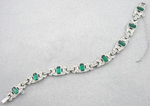 Newly Added Engel Brothers Art Deco Bracelet