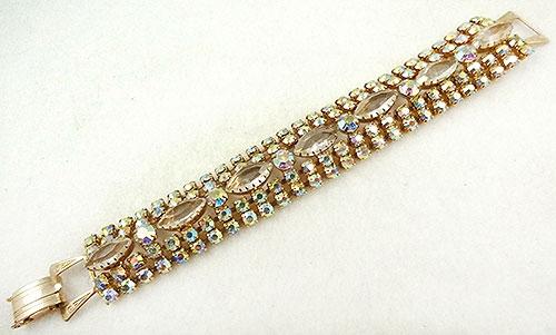Newly Added Aurora Borealis Rhinestone Bracelet