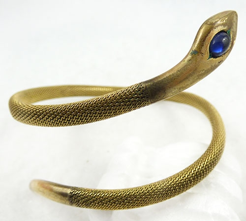 Art Deco - Rodi & Wieneberger German Snake Bracelet