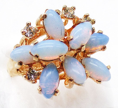 Newly Added Jospeh Esposito Simulated Opal Ring