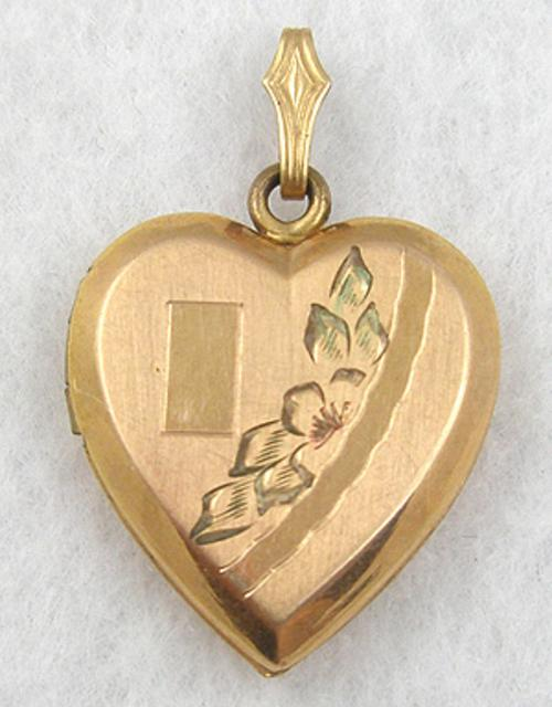 Hearts - Gold Filled Heart Locket