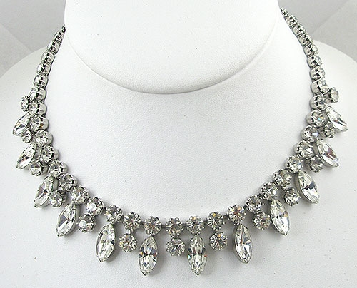 Necklaces - Vintage Weiss Rhinestone Necklace
