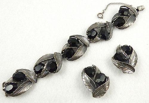 Schiaparelli - Schiaparelli Silver Leaves Bracelet Set